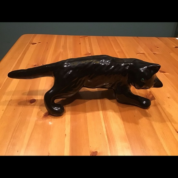 Vintage Other - VINTAGE RARE CAMARK BLK CAT WALL CLIMBER WALL HANG